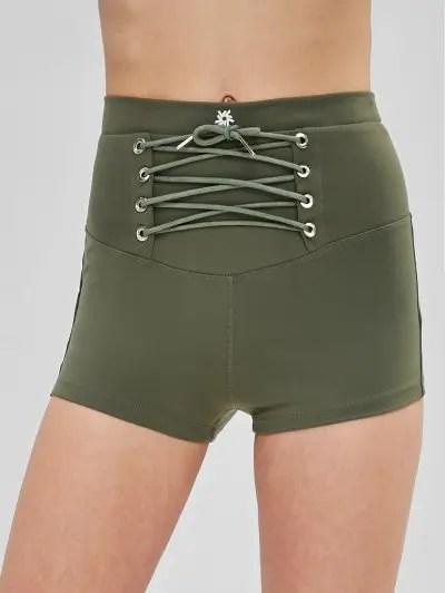 Lace Up Shorts