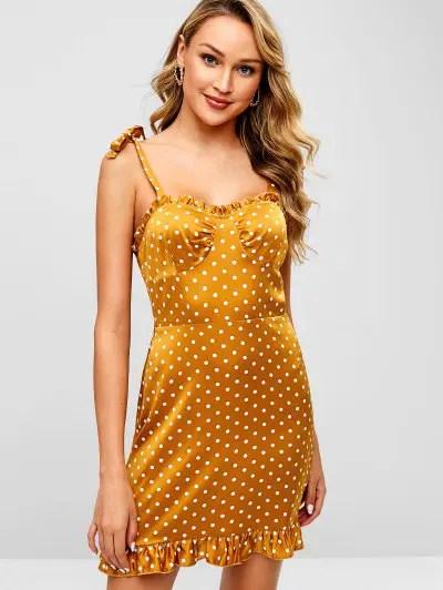Dots Mini Dress