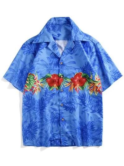 Flowers Plant Print Shirt