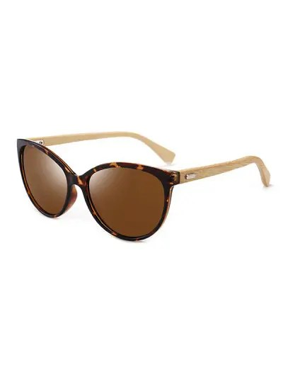 Bamboo Leg Kitty Eye Sunglasses