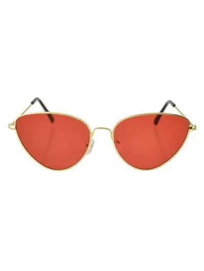 Beach Catty Eye Triangle Sunglasses