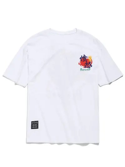 Cartoon Animal Print T shirt