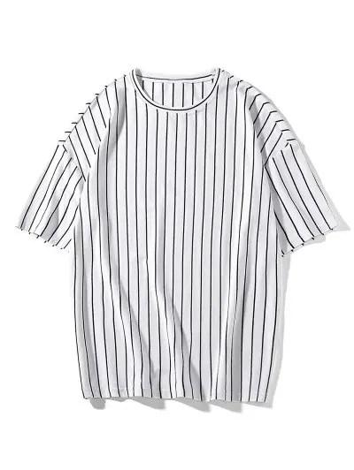 Striped Print T shirt