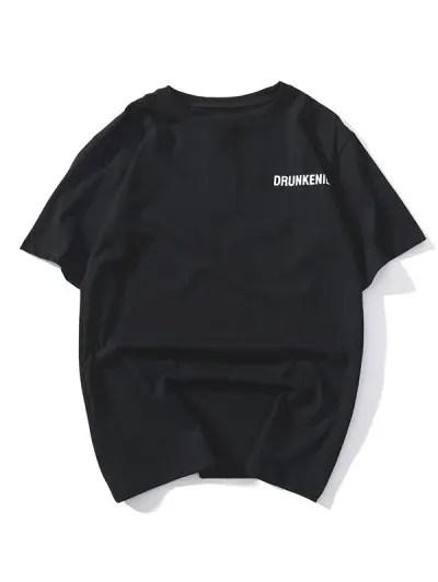 Graphic Print Short Sleeves T shirt