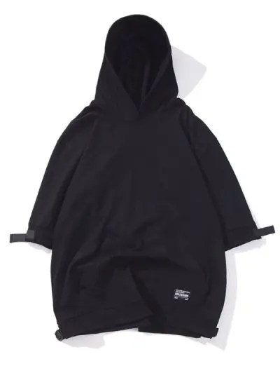 Solid Color Hooded Tee