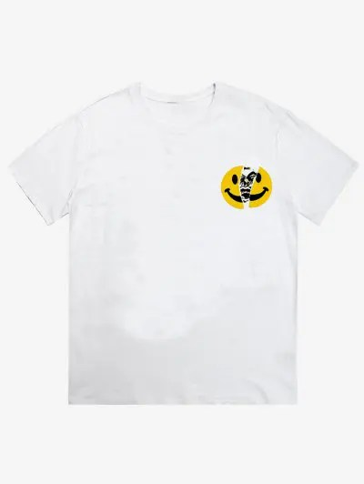 Emoji Letter Print T shirt