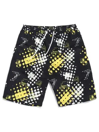 Dots Print Shorts