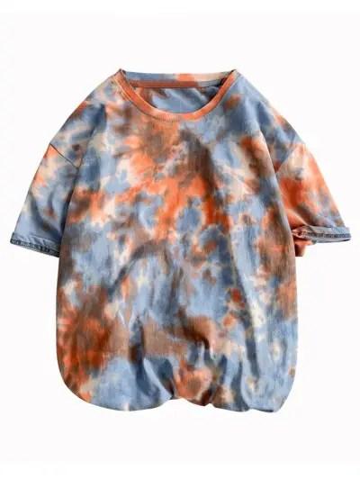 Tie Dye Print T shirt