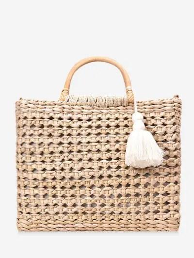 Beach Style Straw Handbag
