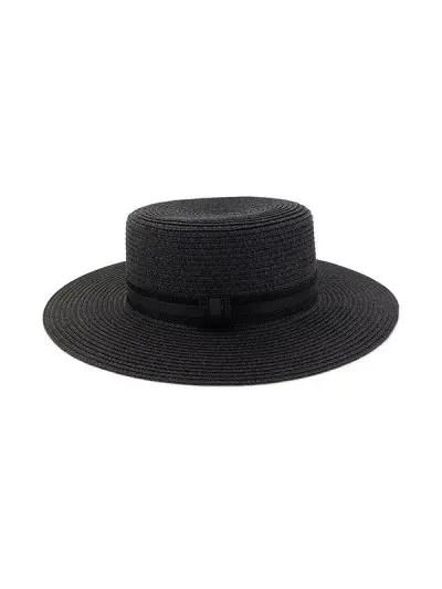 Straw Woven Vintage Style Jazz Hat