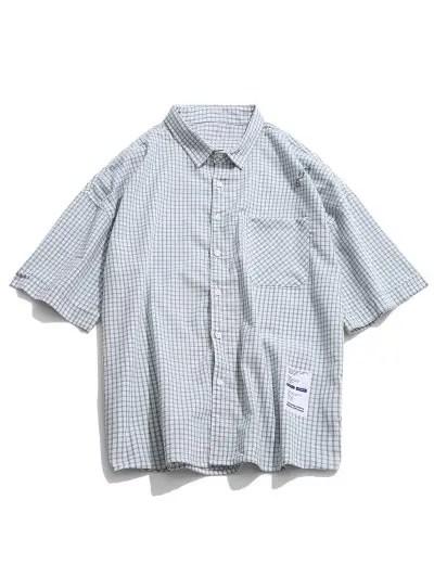 Plaid Print Shirt
