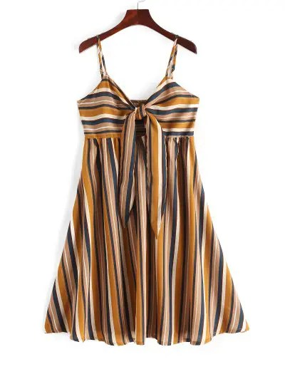 Stripes Cami Dress