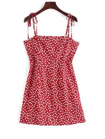 Floral A Line Cami Dress