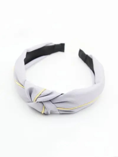 Striped Color Block Knot Fabric Hairband
