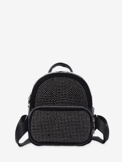 Rhinestone Decoration Backpack