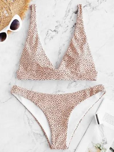Polka Dot Bikini Set