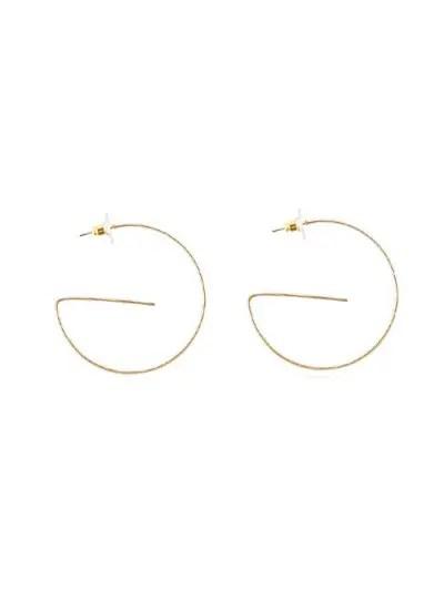 Unique Geometric Drop Earrings