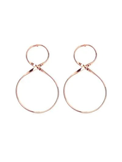 Unique Figure 8 Earrings