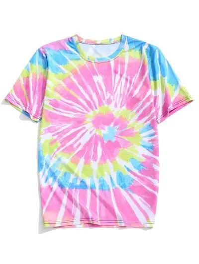 Colorful Tie Dye T shirt