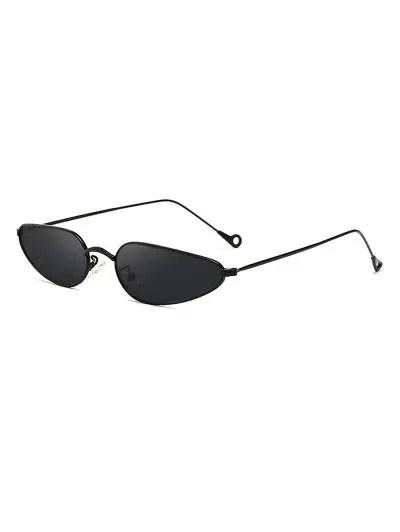 Stylish Metal Frame Unisex Sunglasses