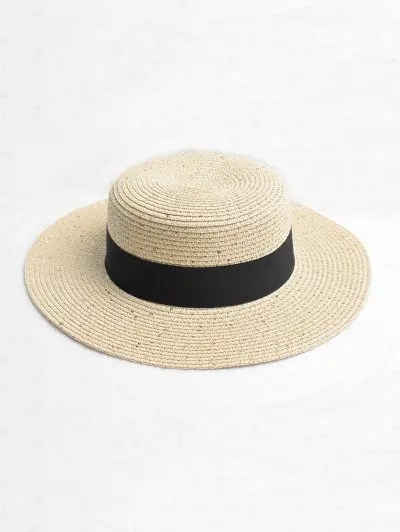 Strap Design Straw Sun Hat