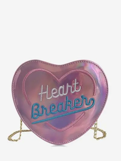 Chic Heart Shape Crossbody Bag