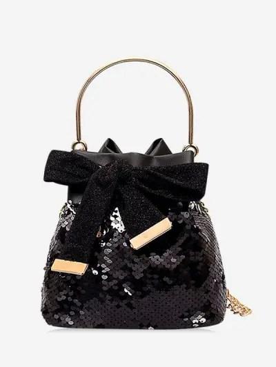 Sequins Decoration Crossbody Bag