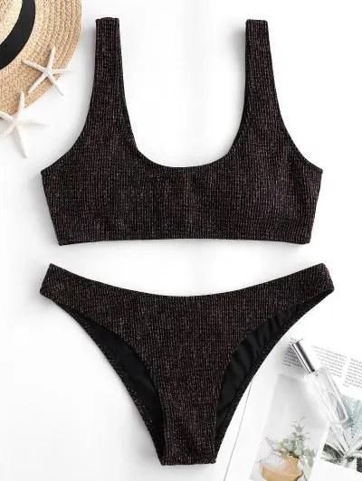 Padded Tank Bikini Swimwear