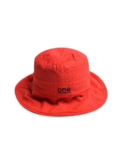 One Embroidery Pattern Bucket Hat