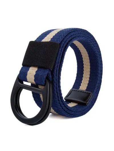 Braid Canvas Belt