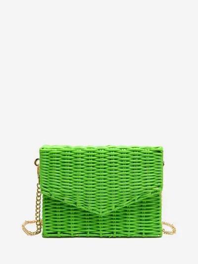 Vintage Weaving Square Shoulder Bag