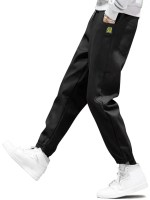 Graphic Icon Pattern Casual Jogger Pants