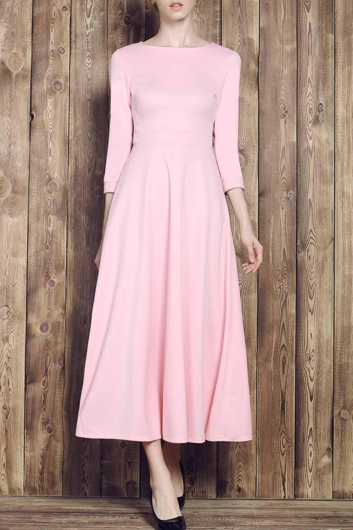 Fall Long Sleeve Maxi Dresses