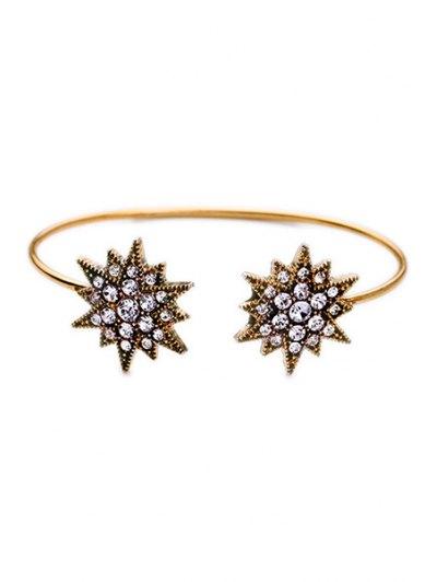 Rhinestone Star Cuff Bracelet For Women
