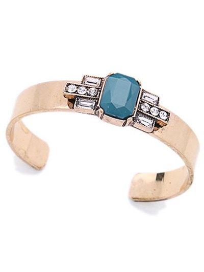 Acrylic Embellished Cuff Bracelet For Women
