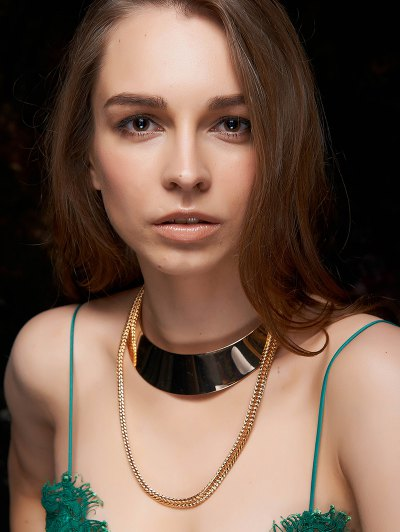 Chain Alloy Chokers Necklace For Women
