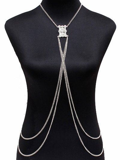 Vintage Layered Alloy Body Chain
