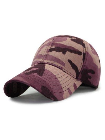 Camouflage Pattern Sunscreen Baseball Hat