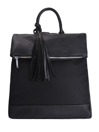 Nylon Spliced Backpack