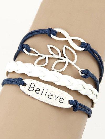 Olive Branch Braided Bracelet
