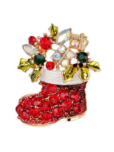 Christmas Shoe Brooch