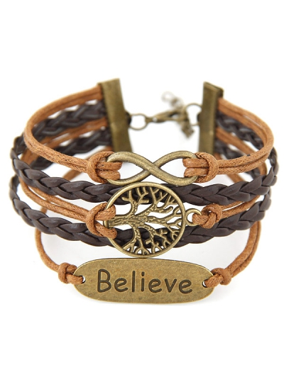 Tree of Life Braided Bracelet