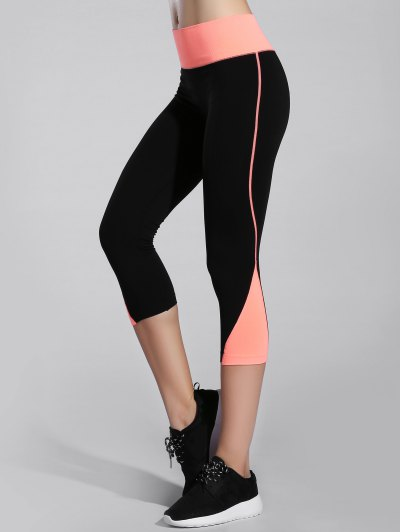 Bicolor Stretchy Sporty Leggings