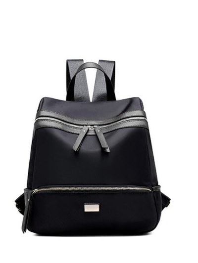 Nylon Metal Backpack