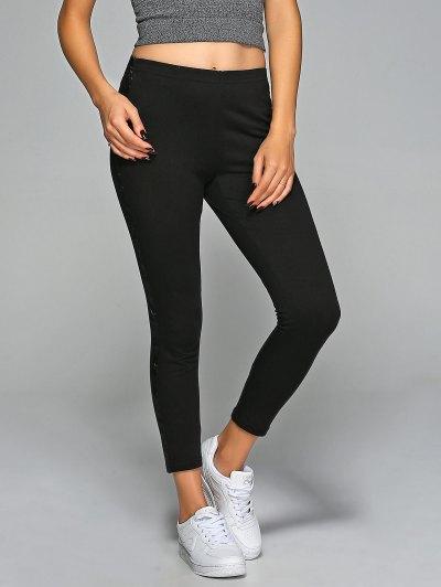 Elastic Waist Gym Pants