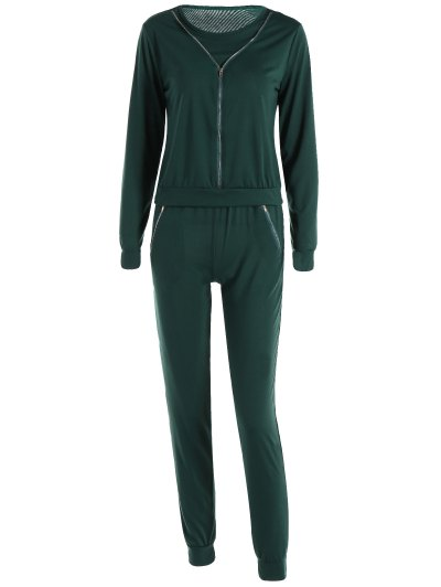 Zippered Sports Suit