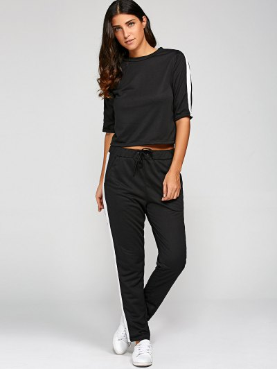 1 2 Sleeve T Shirt With Pants