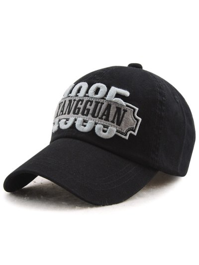 Adjustable Letters Embroidery Baseball Cap
