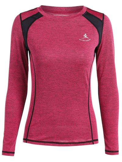 Breathable Heather Pullover T Shirt