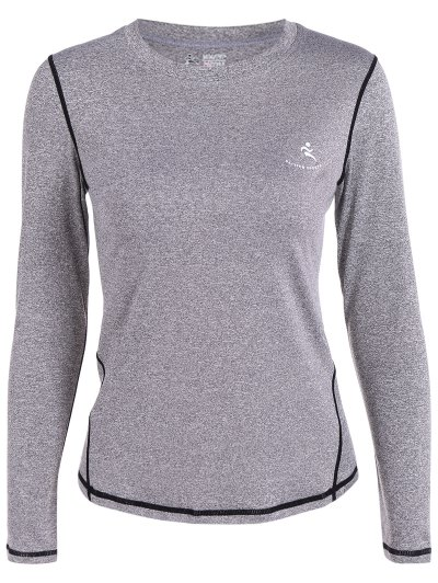Fit Long Sleeve Gym T Shirt